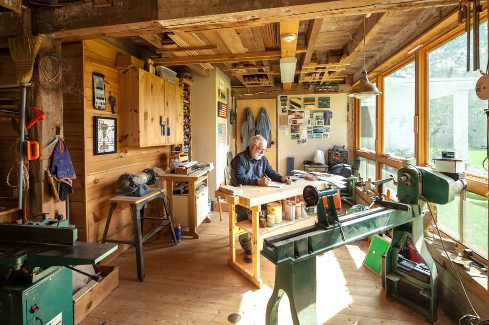 workshop, home, interior for The Accessible Home, Taunton Press