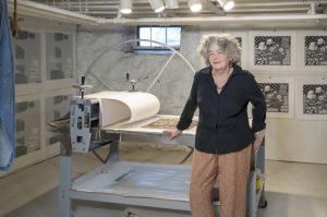 Coco Berkman, artist, Turkeyland Cove Foundation alumna